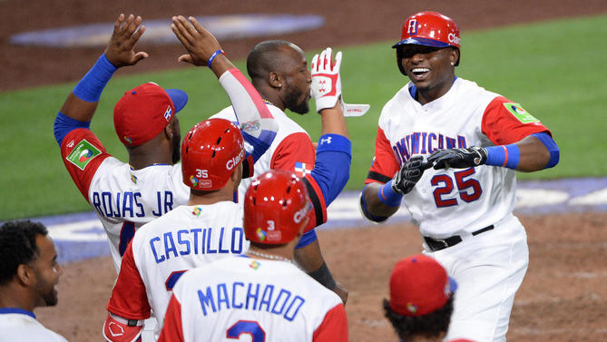 Baseball: World Baseball Classic-Venezuela at Dominican Republic